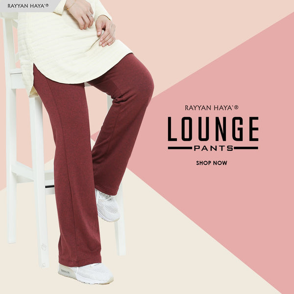 Lounge Pants (Maroon)