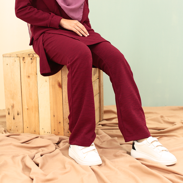 Skirt Pants 3.0 (Maroon)