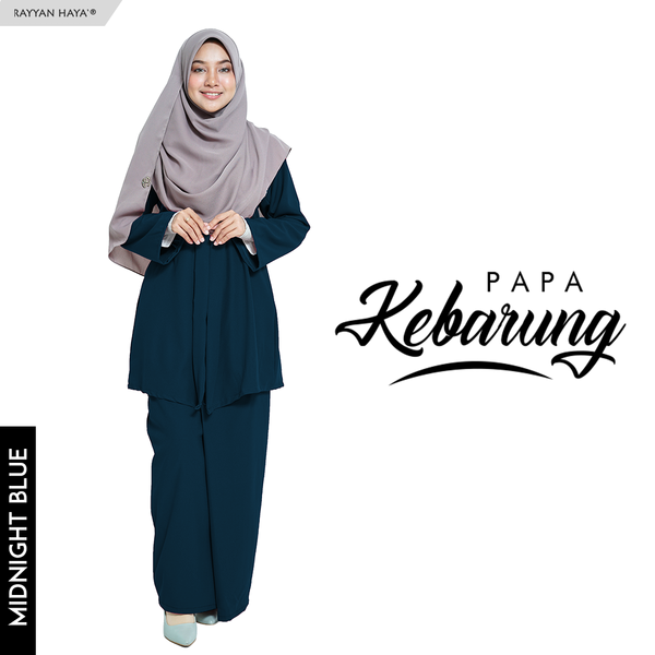 Papa Kebarung (Midnight Blue)