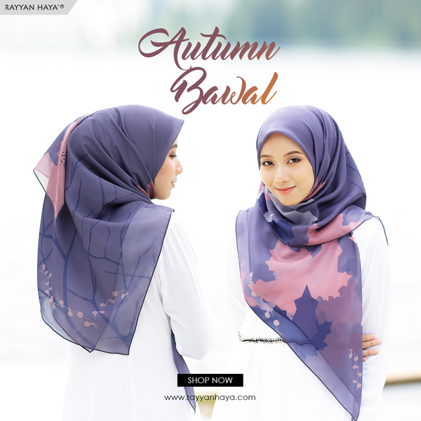 Bawal Autumn (Navy Blue) 48'