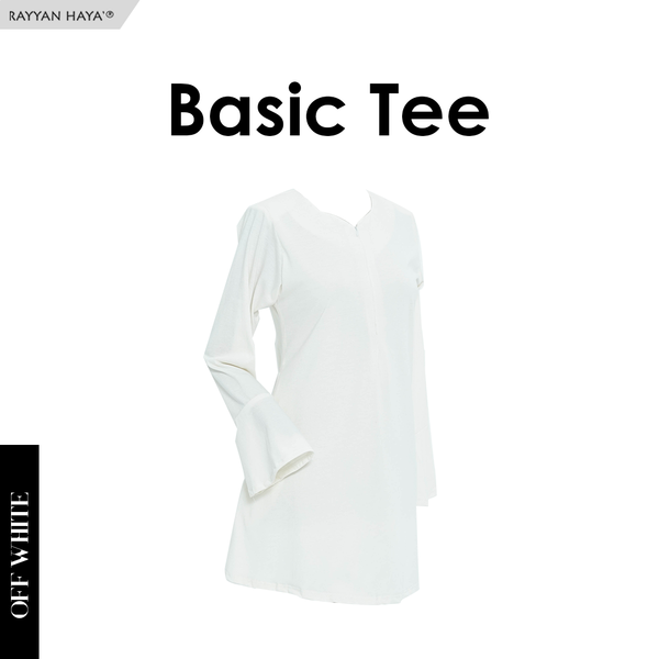 Basic Tee New (Off White)