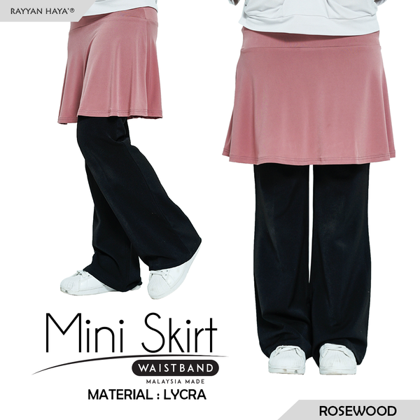 Mini Skirt (Rosewood)