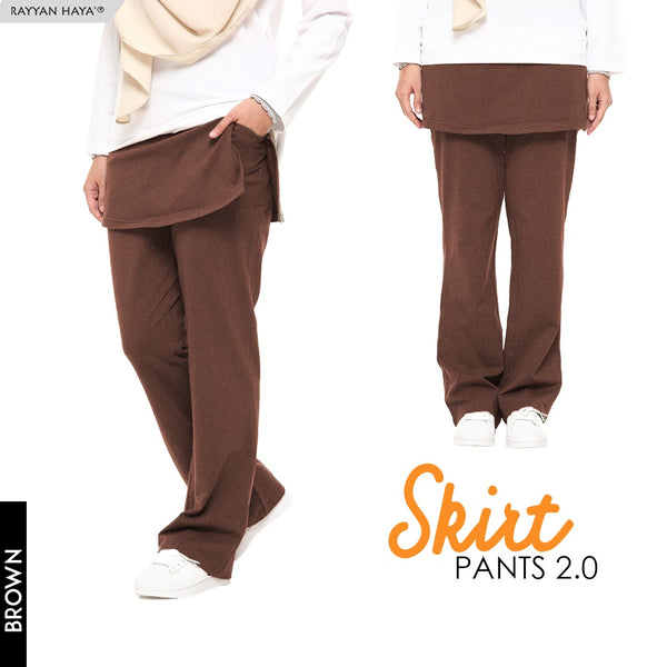 Skirt Pants 2.0 (Brown)