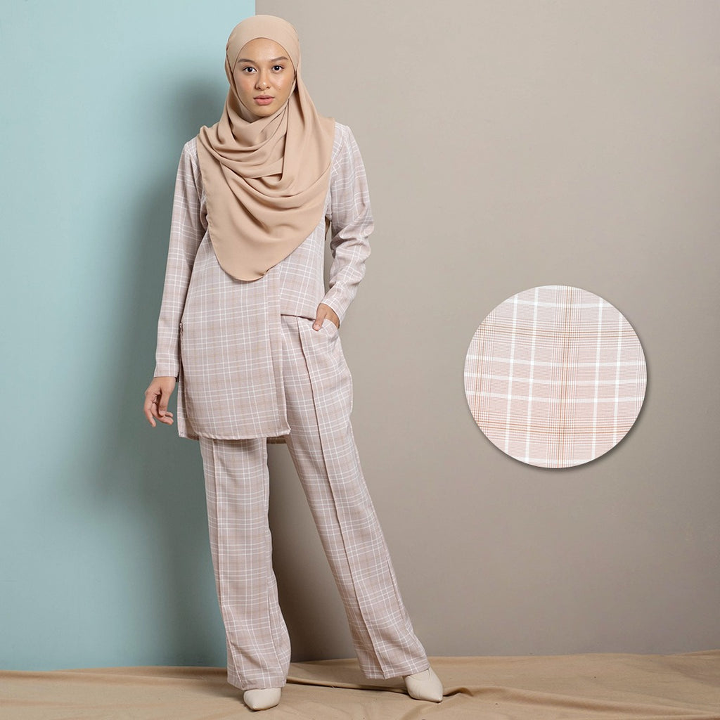 Thea Suit Pants (Salmon)