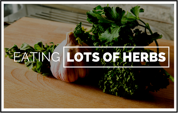 Choose wine by food with lots of herbs