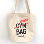 Not Your Gym Bag Wine Tote