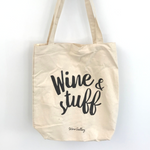 Wine & Stuff Tote Bag