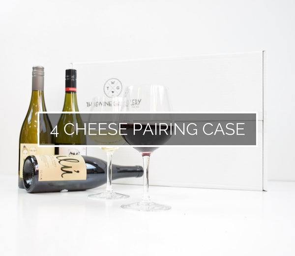 Sommelier's 4 Wine - Cheese Pairing Case - The Wine Gallery - The Wine Gallery