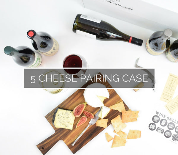 Sommelier's 5 Wine - Cheese Pairing Case - The Wine Gallery - The Wine Gallery