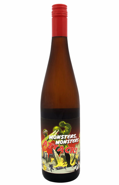 Off Dry Riesling - Monsters Monsters, Attack - Some Young Punks - The Wine Gallery