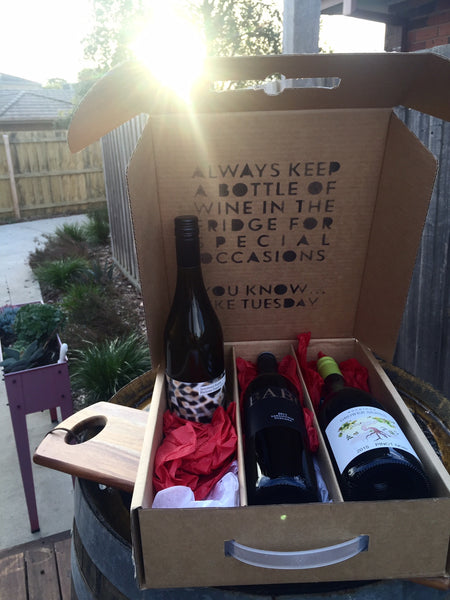 Wine is a Verb Box - The Wine Gallery - The Wine Gallery