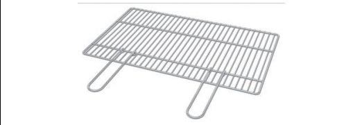 Stainless Steel Grill 670 x 400 mm