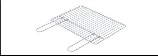 Stainless Steel Grill 455 x 330 mm