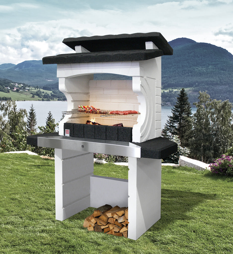 Kos. WOOD AND CHARCOAL BURNING. BBQ OF THE WEEK NOW £449.99 INC FREE DELIVERY.