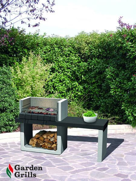 Porto. THIS BBQ IS EQUIPPED TO BURN WOOD AND CHARCOAL. CHRISTMAS SALE NOW £399.99.