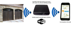 Gate1® Universal SmartPhone Garage WIFI Kit