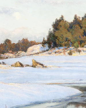 Reproduction Art Print (Frozen Creek)