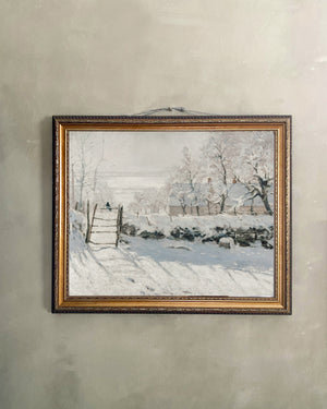 Reproduction Art Print (Wintery Wall)