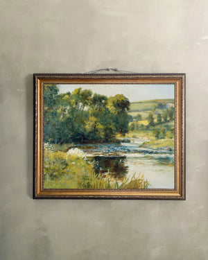 Reproduction Art Canvas (Streamside)