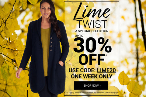 Lime Twist - 20% OFF WITH CODE: LIME20