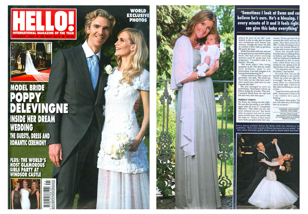 Chesca featured in Hello Magazine