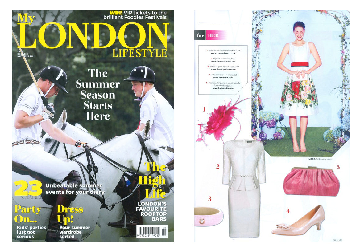 Chesca featured in My London Lifestyle