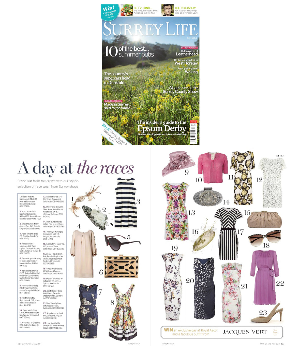 Chesca featured in Surrey Life Magazine