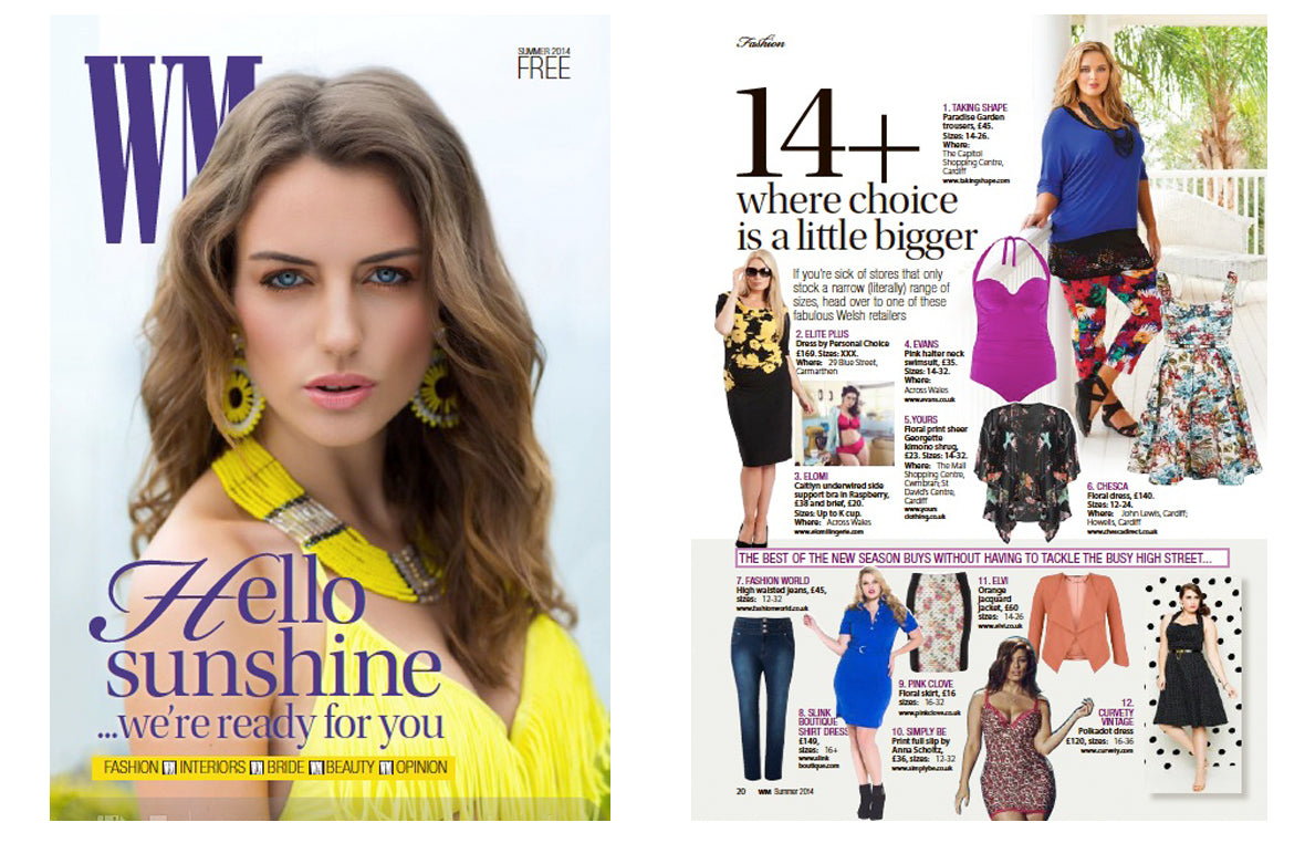 Chesca featured in WM Magazine