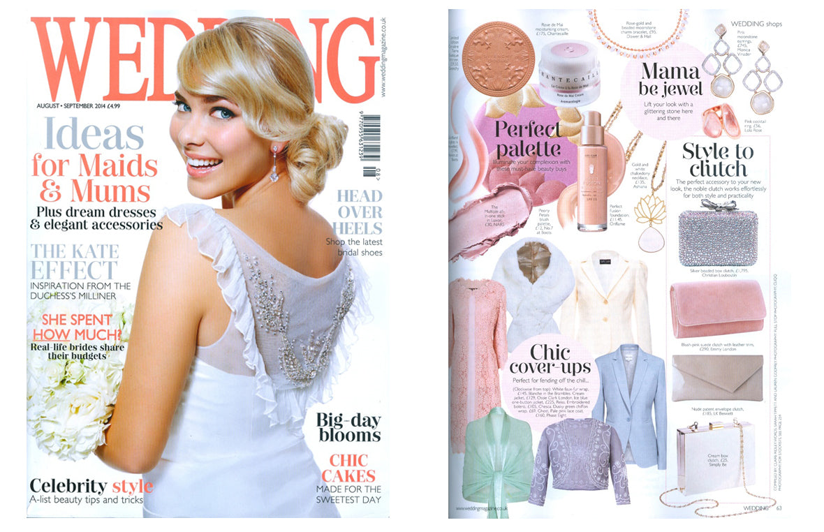 Chesca featured in Wedding Magazine