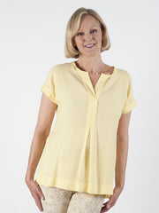 bianca yellow shirt