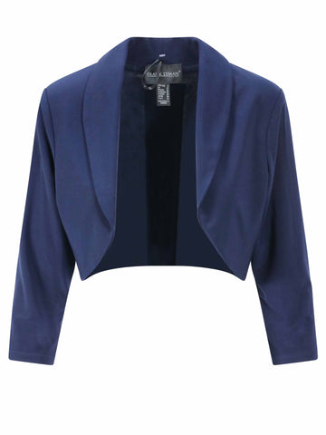 Frank Lyman Midnight Bolero Jacket