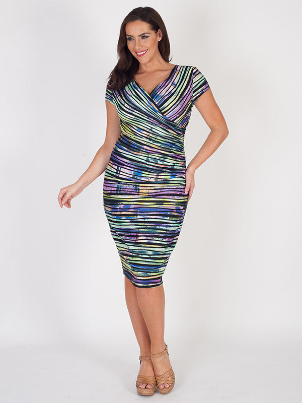 Joseph Ribkoff Crossover Dress