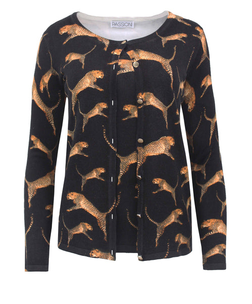 Passioni Animal Print Twinset