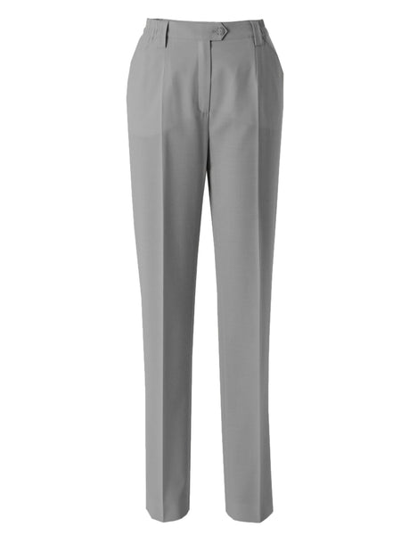 Michele Grey Slim Leg Classic Smart Trouser Regular