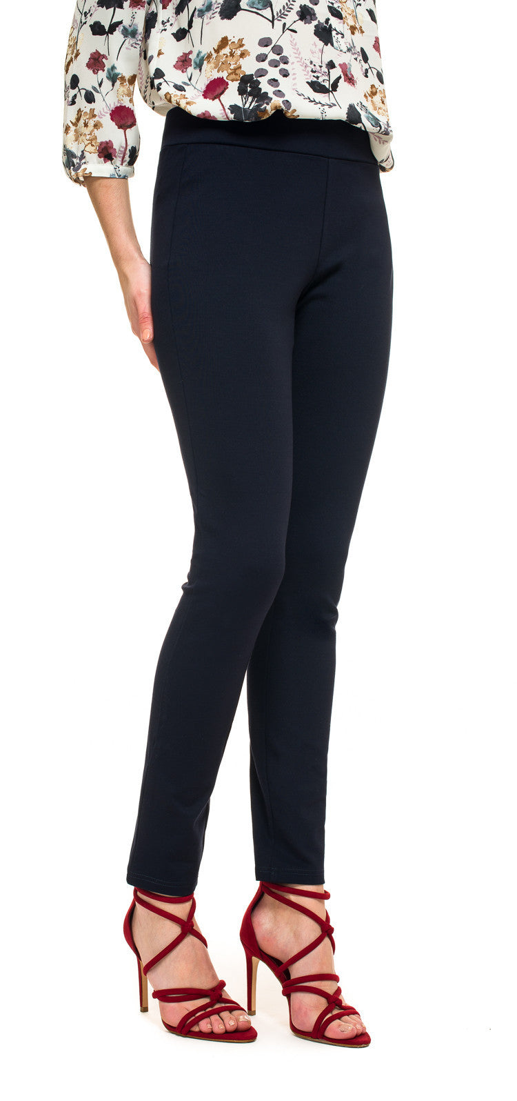 NYDJ Navy Pull On Legging