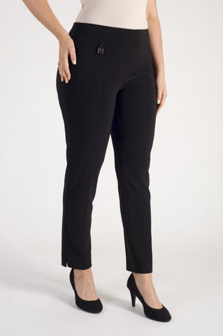 Joseph Ribkoff Black Smart Pull On Trouser