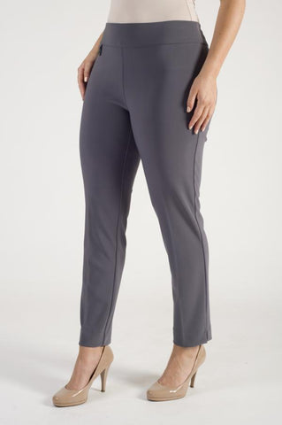 Joseph Ribkoff Grey Smart Pull On Trouser
