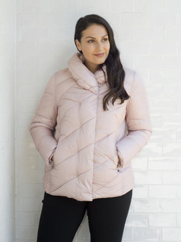 Gerry Weber Vintage Pink Quilted Coat