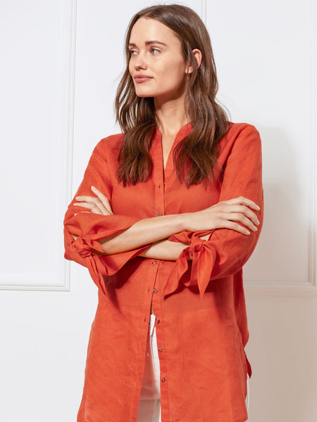 Gerry Weber Orange 3/4 Sleeve Blouse
