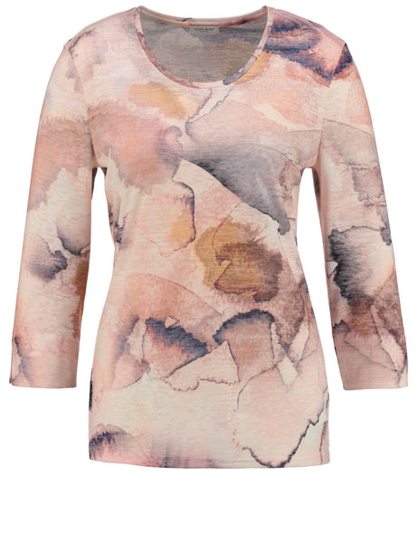 GERRY WEBER Watercolour-print Top