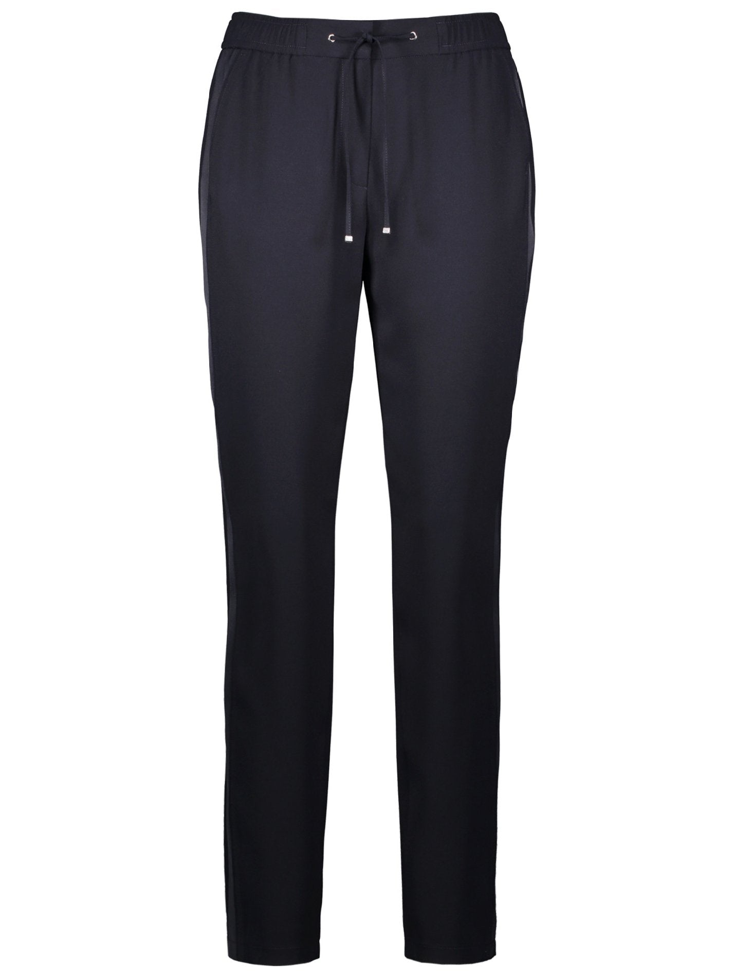GERRY WEBER Navy Pull On Leisure Style Trouser