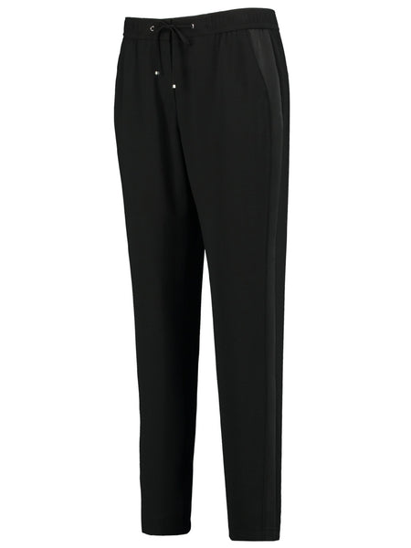 GERRY WEBER Black Pull On Leisure Style Trouser