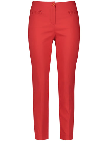 Gerry Weber Red Crop Leisure Trouser