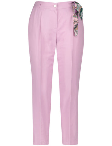 Gerry Weber Lilac Crop Trouser