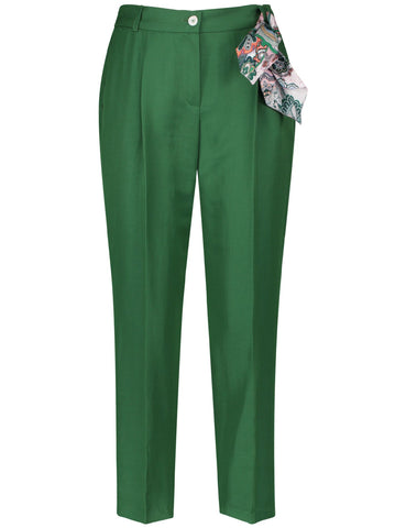 Gerry Weber Green Crop Leisure Trouser
