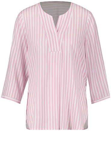 Gerry Weber Lilac/Ecru Stripe Shirt