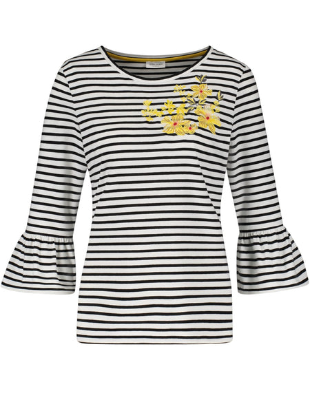 Gerry Weber Ecru/White/Black T-Shirt