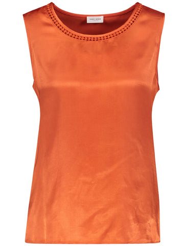 Gerry Weber Orange Knitted Jersey Top