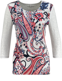 Gerry Weber Paisley Printed Top