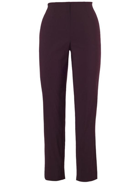 Aubergine Slim Stretch Trouser